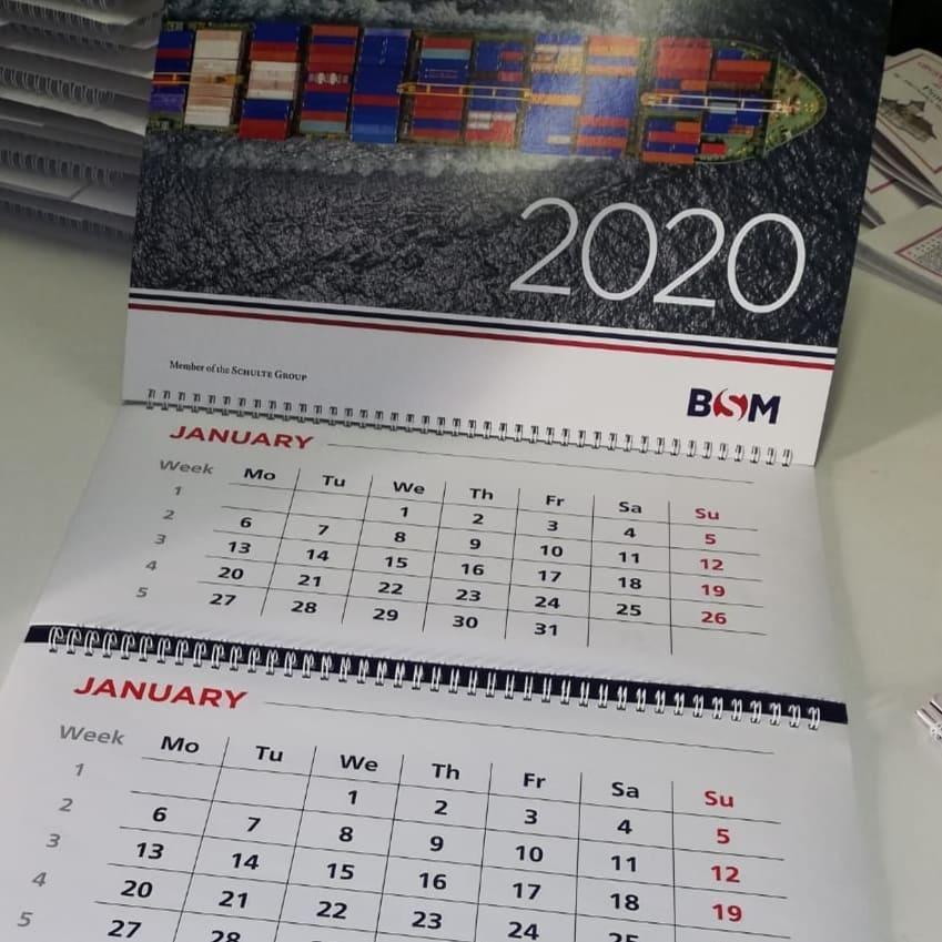 calendar personalizat 2020 la comanda rapid