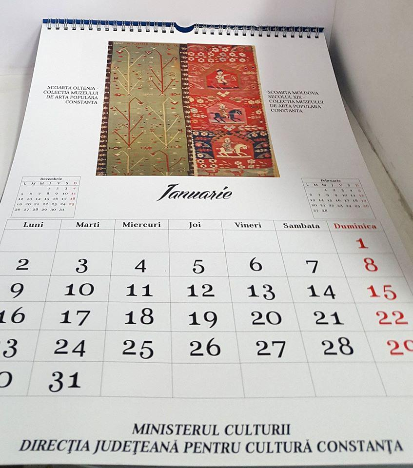 calendar personalizat eveniment organizatie