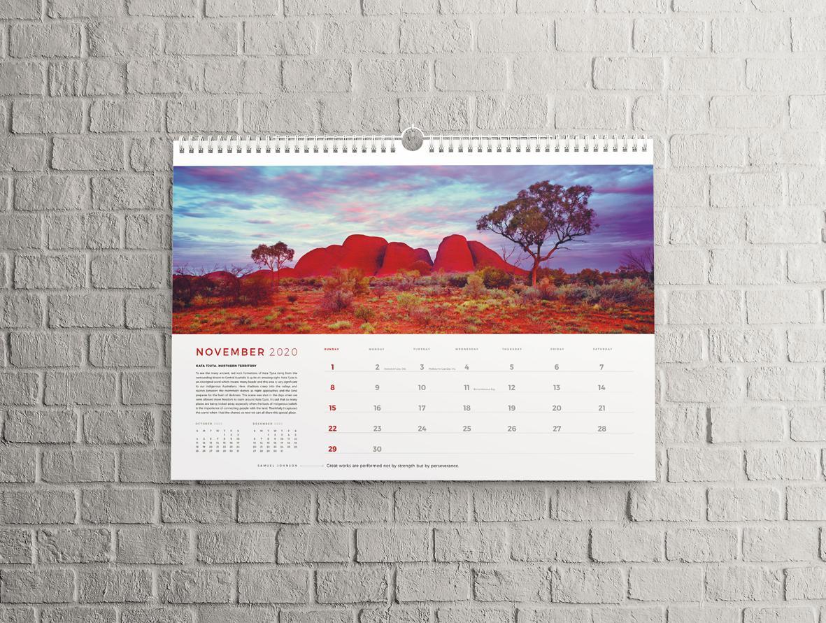 calendar personalizat peisaj special la comanda rapid 2021