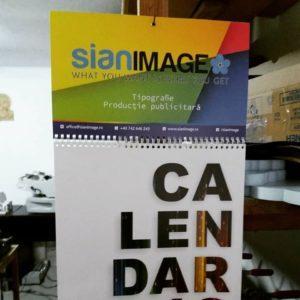 calendar personalizat sian image media ieftin