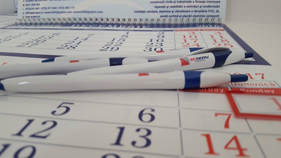 pack calendar pix personalizat promovare brand